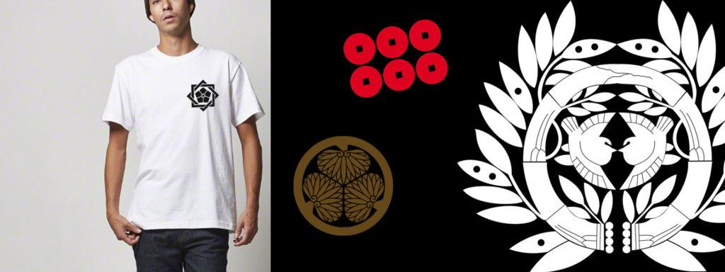 家紋Tシャツ